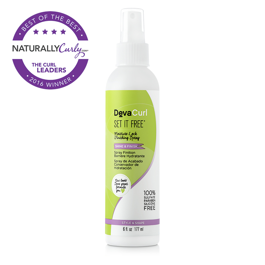 Favorite Finishing Product - DevaCurl Set It Free Moisture Lock